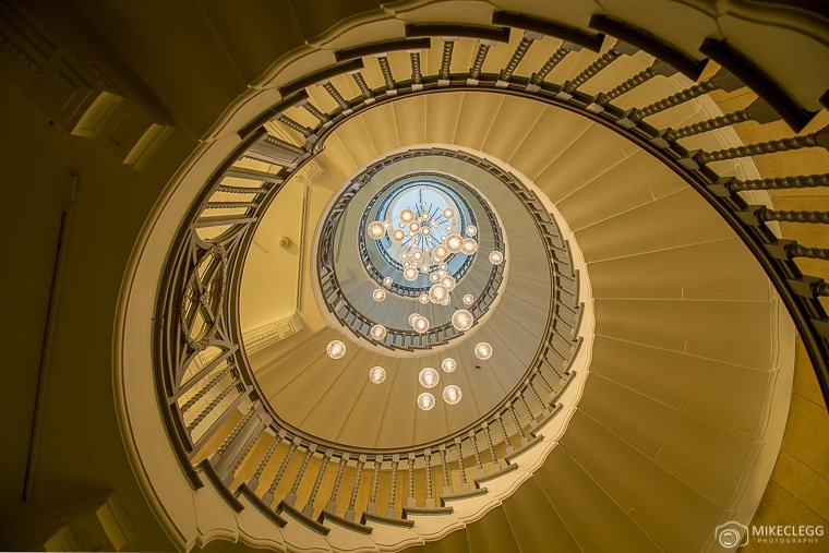 Staircase in Heals Department Store, London
