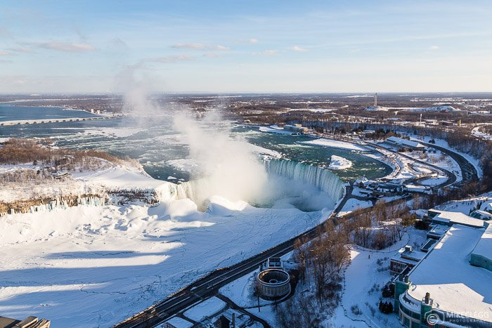 Winters at the Horseshoe Falls