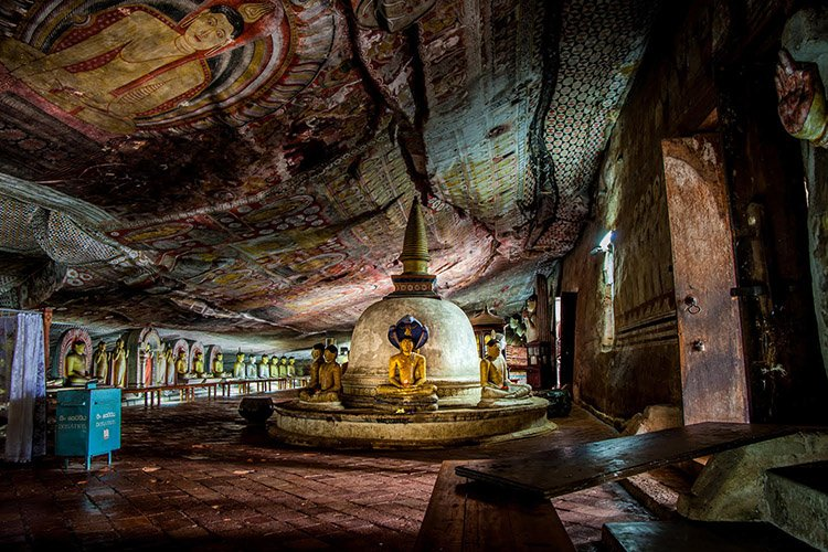 Dambulla Caves in Sri Lanka - Danflyingsolo