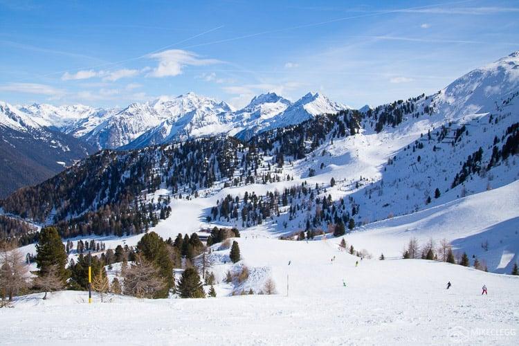 Ski Resort Speikboden, South Tyrol, Italy