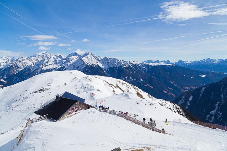 Ski Resort Speikboden View, South Tyrol, Italy