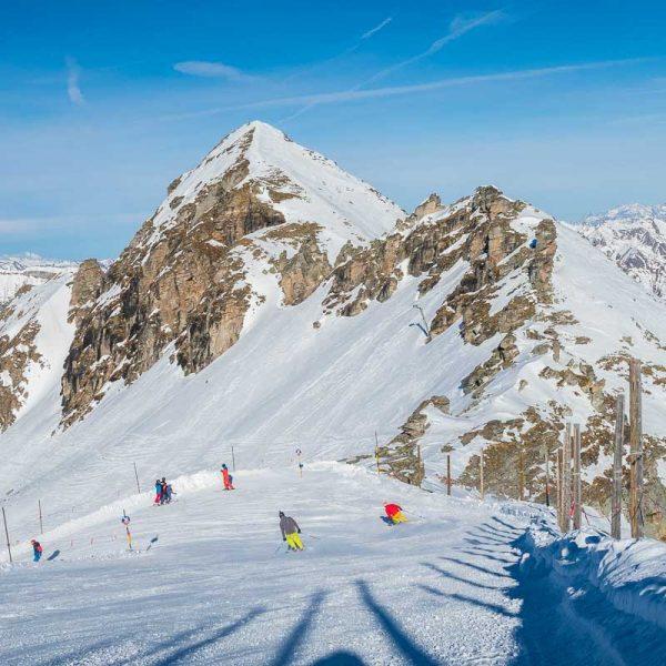 Skiing in Gastein, Austria