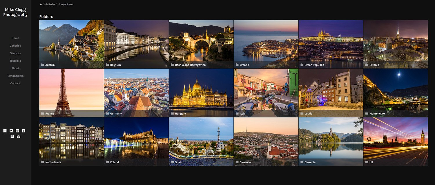Smugmug Travel Photography Portfolio