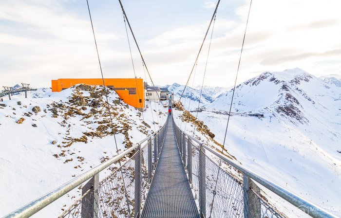 Stubnerkogel Suspension Bridge, Gastein