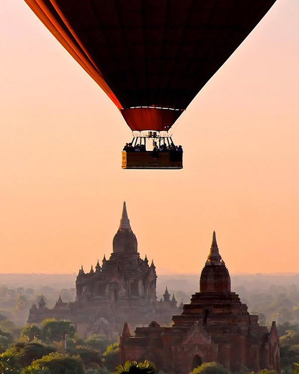 Sunrise over Bagan - Danflyingsolo