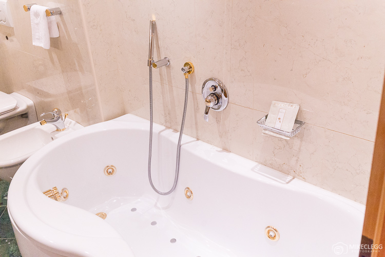 Whirlpool Bath in Bathroom