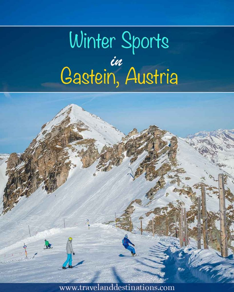 Winter Sports in Gastein, Austria