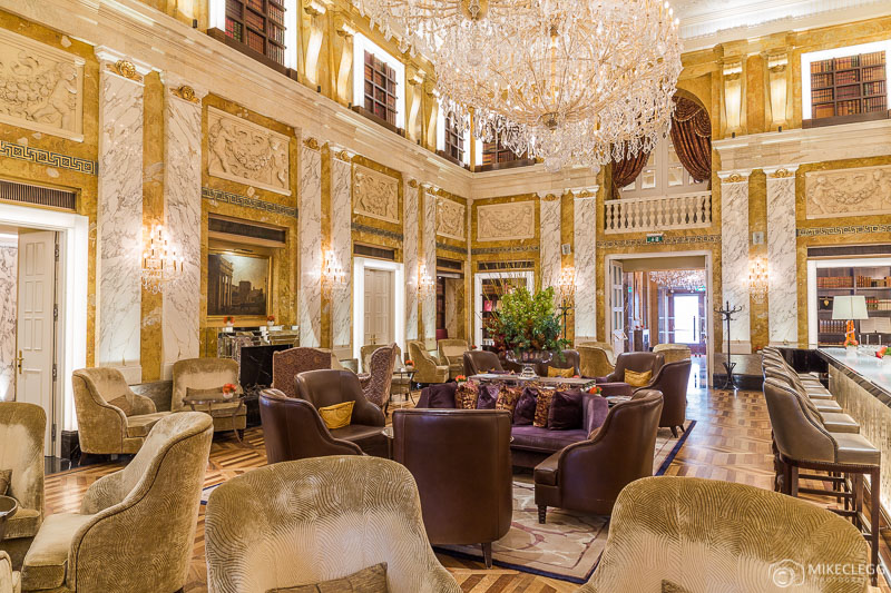 Beautiful interiors at Hotel Imperial Vienna