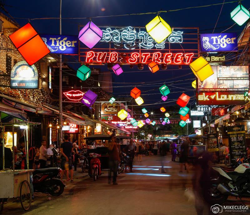 Beer Street, Siem Reap