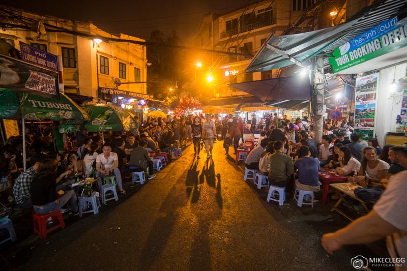 Bia Hoi Corner, Le coin de la bière