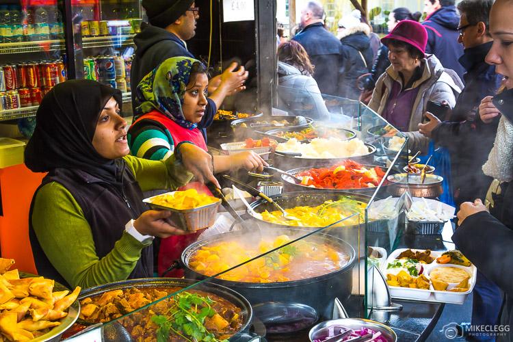 Camden Food Stalls