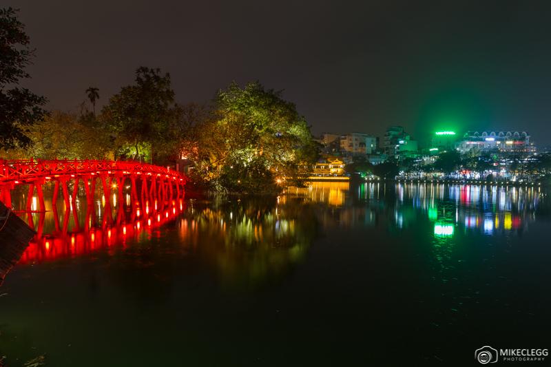 Hồ Hoàn Kiếm la nuit