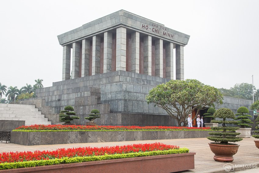 Ho Chi Minh Mausoleum during the day