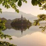 Lake Bled at Sunrise
