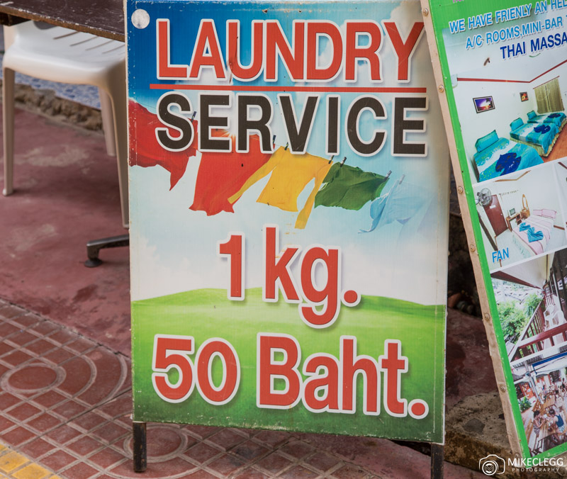 Laundry Service in Thailand