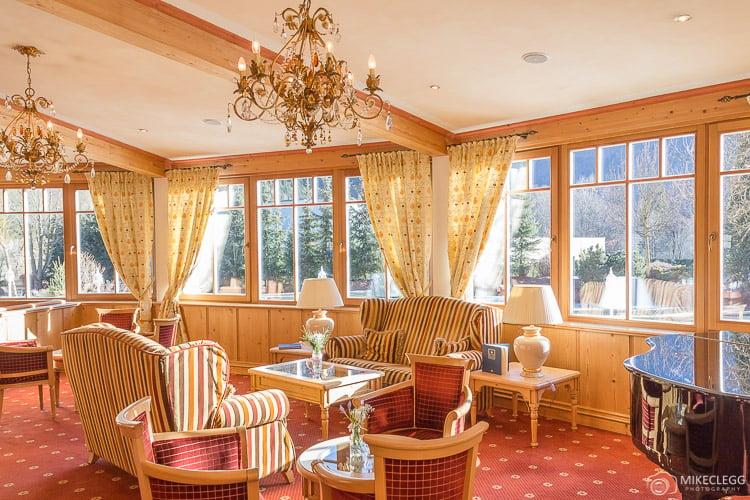 Lounge at Alpen Palace Resort