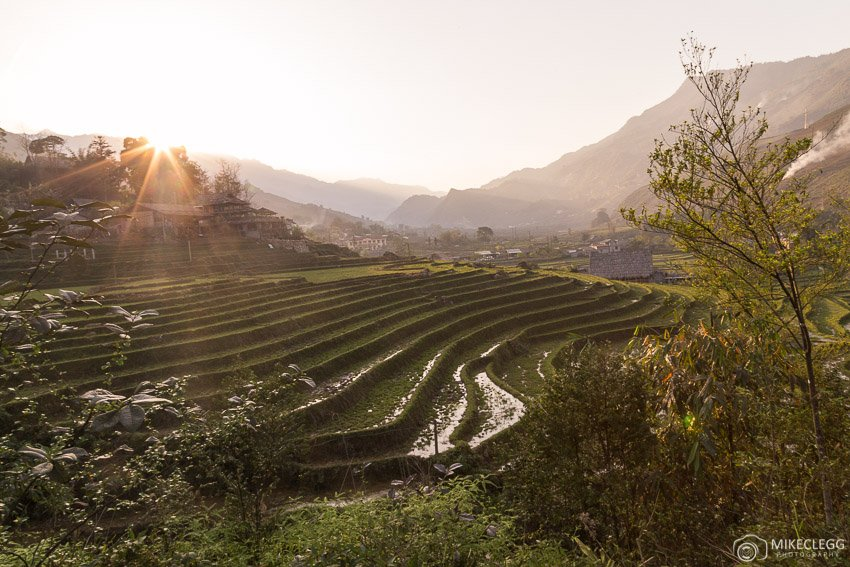 Rice Fields and the landscape of Sapa, Vietnam