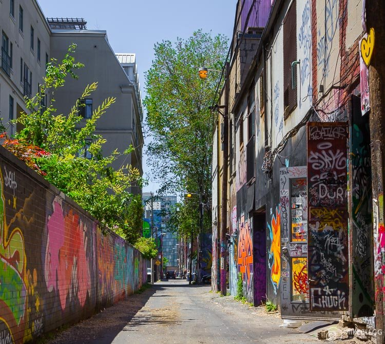 Rush Lane - Graffiti Alley