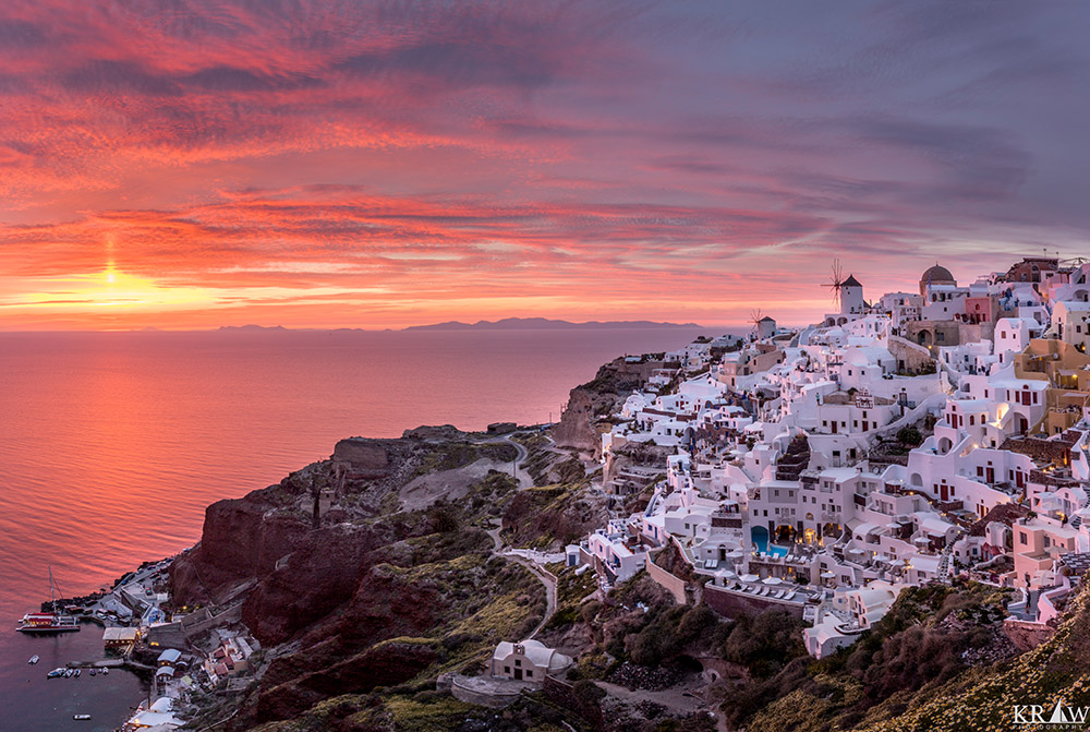 Santorini by Kevin Walsh