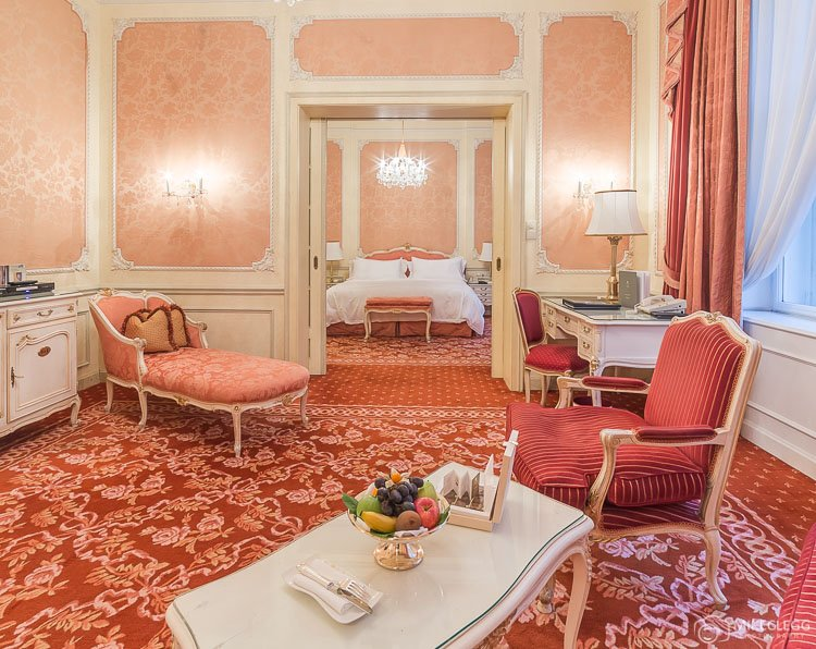 Suite at Hotel Imperial Vienna, Austria
