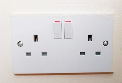UK plug socket