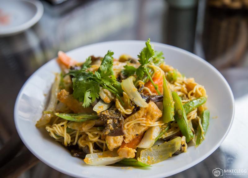 Vegetable Dish at Karma Waters Vegan Restaurant