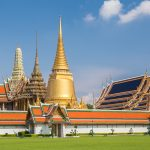 Bangkok, Thailand - The exterior of the Grand Palace