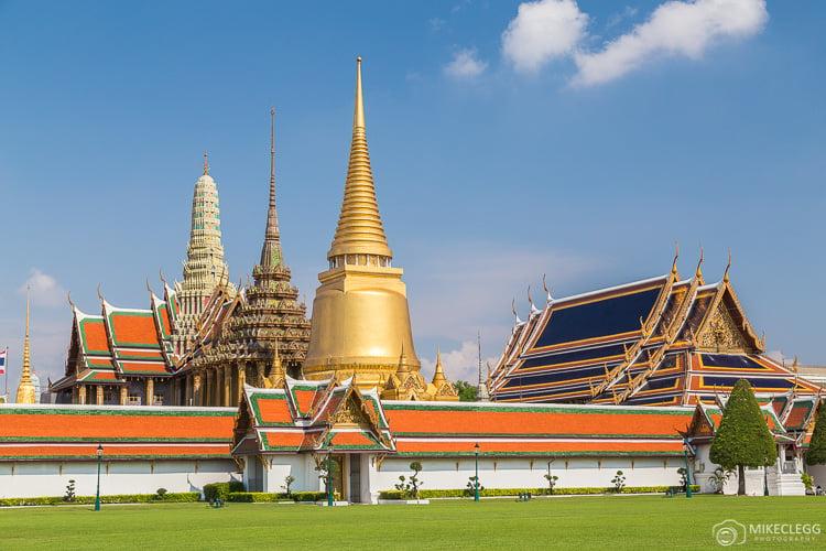 Bangkok, Thailand - The exterior of the Grand Palace