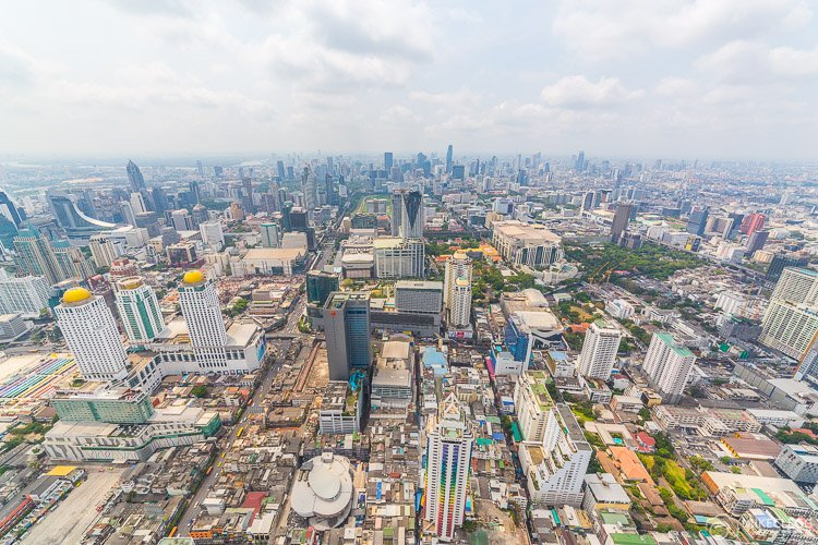 Bangkok, Thailand - Views from Baiyoke Tower II