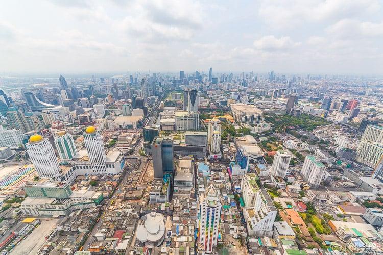 Bangkok, Thailand - Views from Baiyoke Tower II
