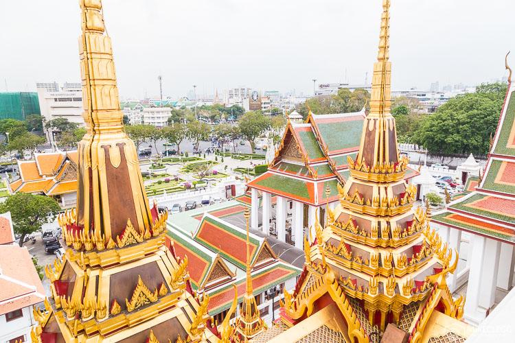 Bangkok, Thailand - Wat Ratchanatdaram - Loha Prasat