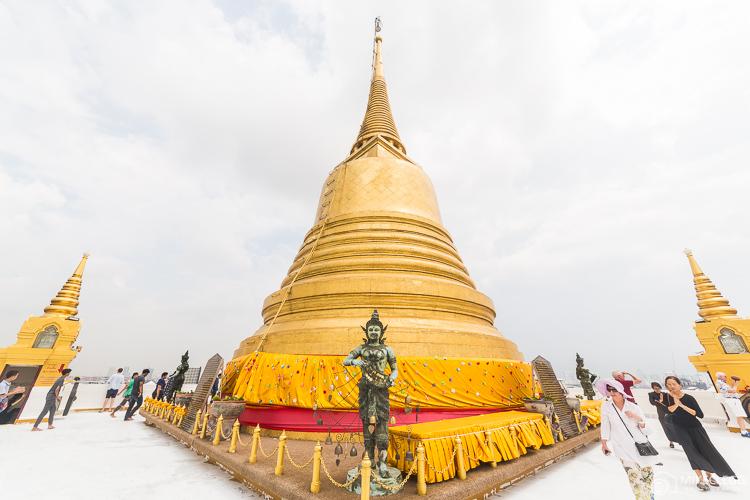 Bangkok, Thailand - Wat Saket, Golden Mount