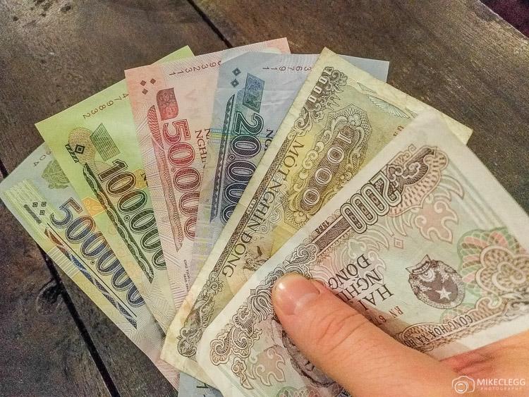 Bank Notes in Vietnam