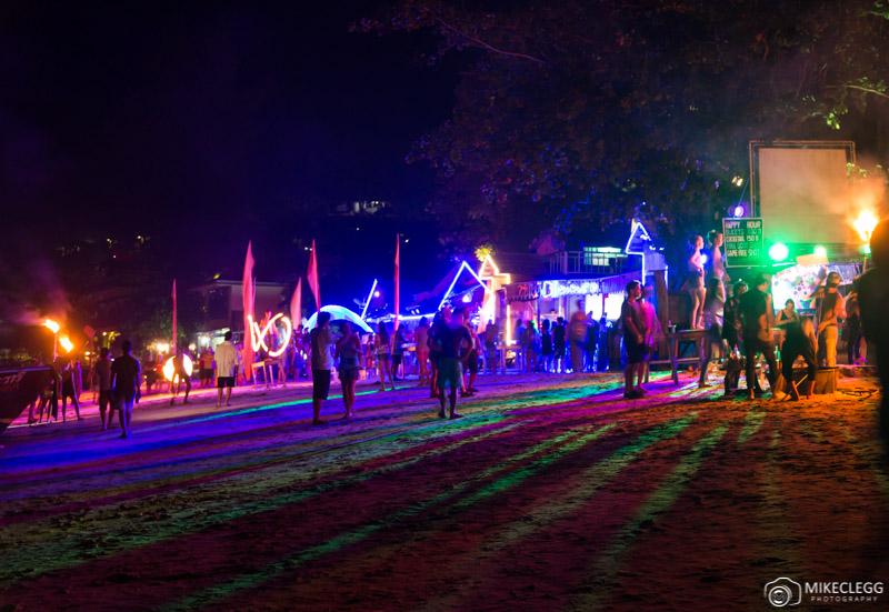 Beach parties in Ko Phi Phi, Thailand