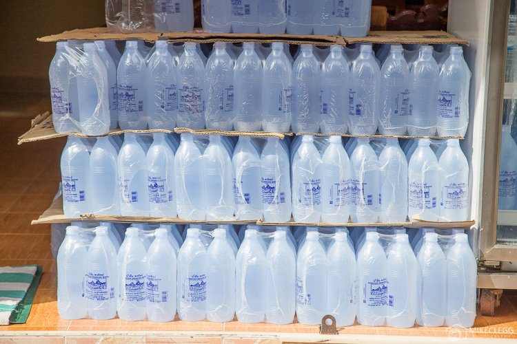 Bottled water, Asia