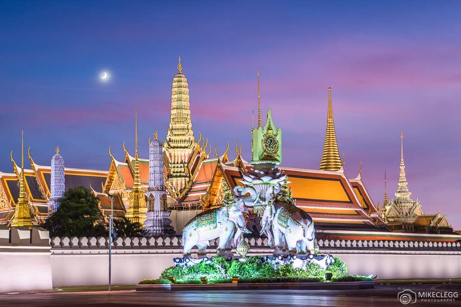 Bangkok, Thailand at night