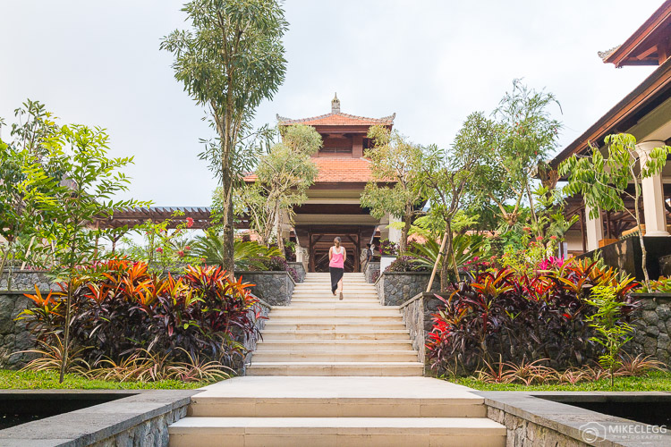 Lobby gardens at Padma Resort Ubud