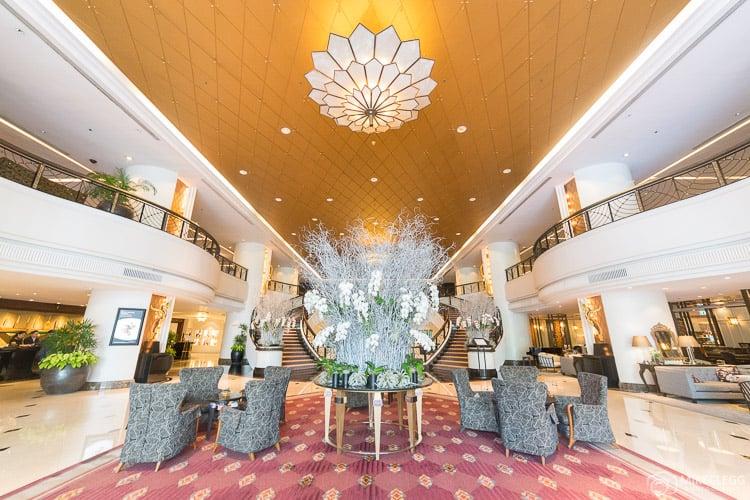 Lobby in the Plaza Athenee Bangkok
