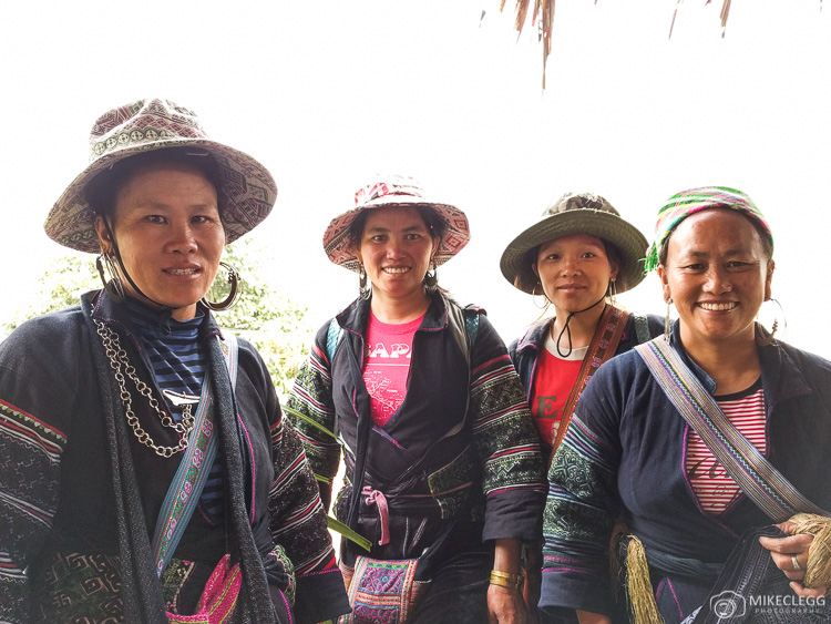 Local tribes people in Vietnam