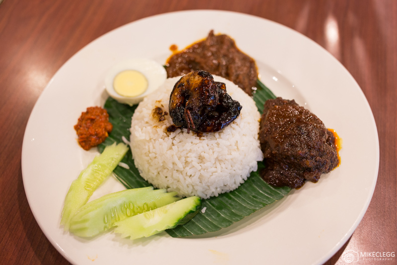 Nasi lemak National Dish in Malaysia