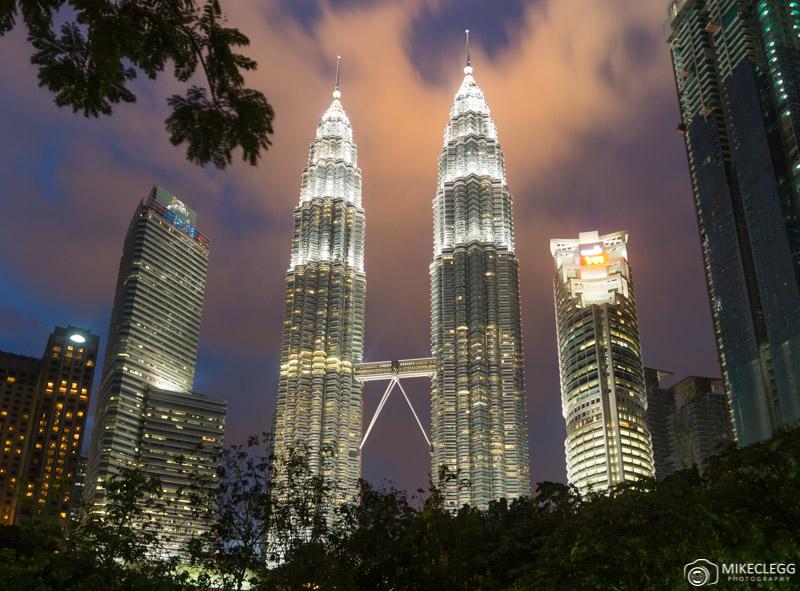 Petronas Towers, Kuala Lumpur at night