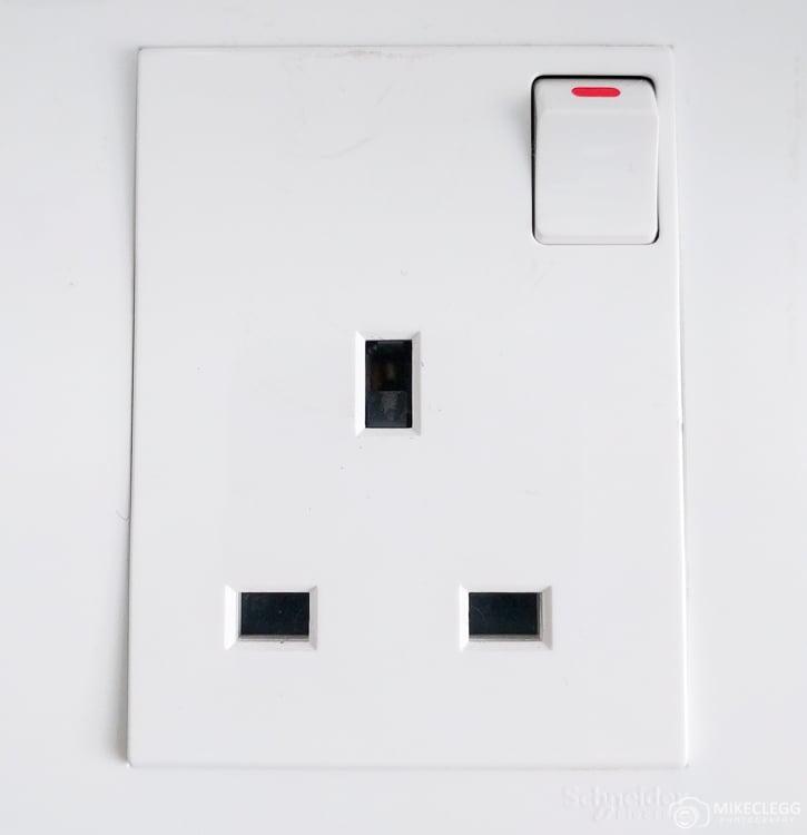 Plug sockets in Hong Kong