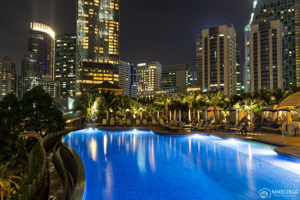Pool at Mandarin Oriental, Kuala Lumpur