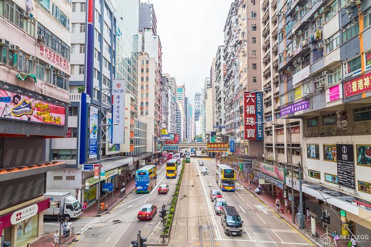 Streets of Hong Kong Island