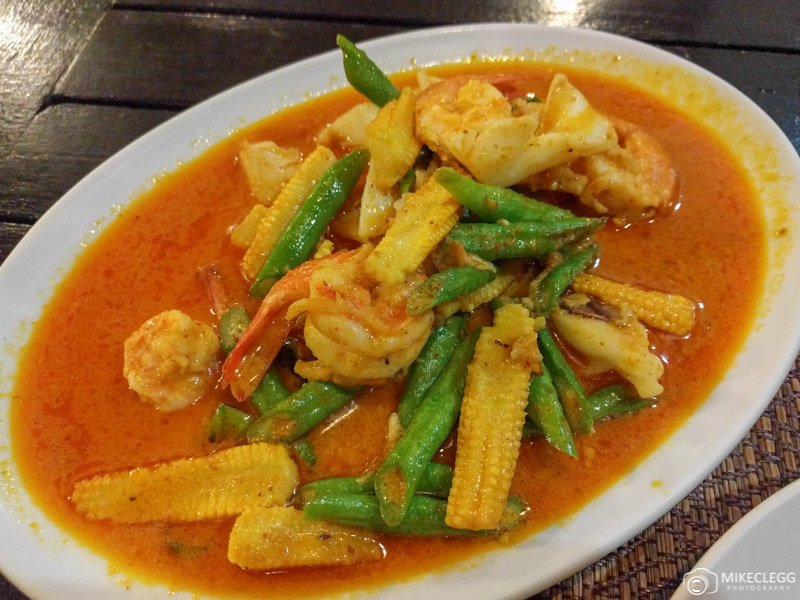 Thai Red Curry in Thailand