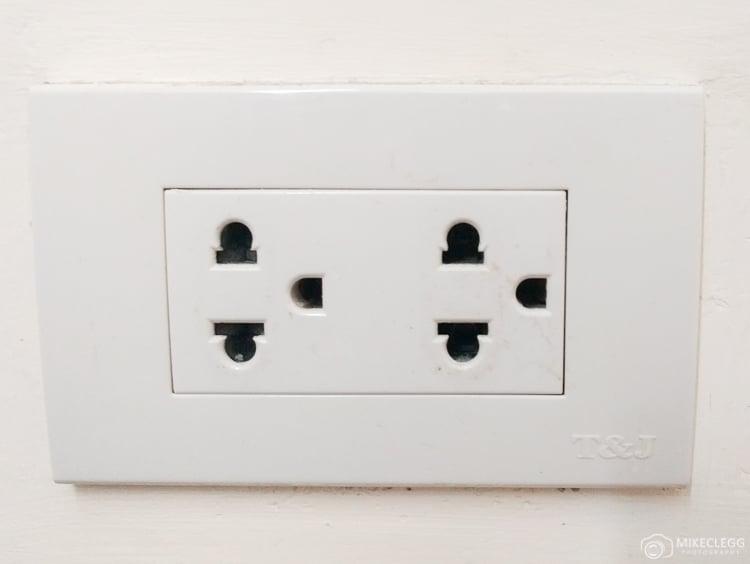 Thailand plug socket