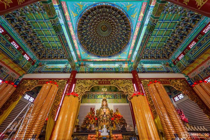 Thean Hou Temple, Kuala Lumpuer - Interior