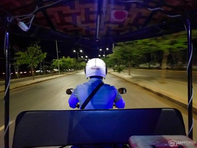 Tuk Tuk Transfer in Cambodia