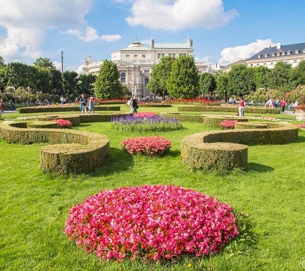 Vienna, Austria in the summer
