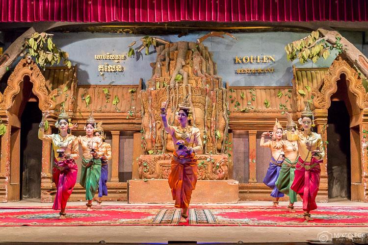 Apsara Dancing, Cambodia